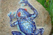 мозайка в саду