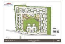 avalon rosewood bhiwadi layout plan