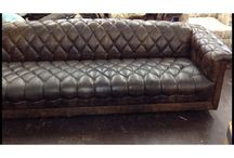 Store stuff / Awesome MIDCENTURY chesterfield couch.