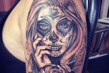 Mexico_(Day Of The Dead Tattoos)