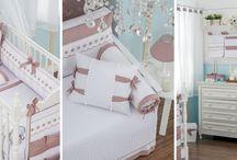 Kits de berço / Enxoval para decorar quarto de bebê