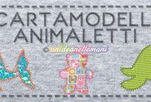 modelli di animali