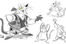 Squeek! Mice,rats,cats / this is place for mix of designs and references