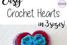 crochet heartFree Pattern