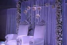 stage decorations / wedding stage dacorations
