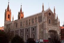 Iglesias de Madrid / by Lacultalatiniparla Quevedo