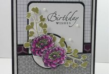 Stampin' Up! - Feminine Cards / Feminine cards made using Stampin' Up! products.