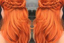 Hair colours...