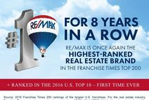 RE/MAX 8 YEARS IN A ROW - HIGHEST RANKED REAL ESTATE BRAND