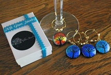 Gifting of Nicole Richie / As a proud member of The Artisan Group, I have created wine charms for Nicole Richie.
