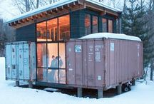 Alternative Housing Ideas / Houses made out of sustainable/recycled materials.