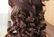 Bridal Hairstyles: Long Hair / This pin board includes beautiful bridal hairstyles done with long hair, all created by Pam Wrigley.