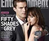 50 Shades  / Tbh I imagined Christian Grey with a stronger face, but he's okay