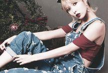 HyunA badass chic