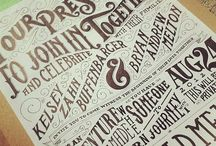 I ❤ Typography; I Was Born This Way / Outstanding Typographical Design