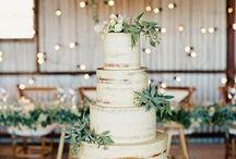 Greenery wedding theme / Greenery Palm succulent simple classic wedding