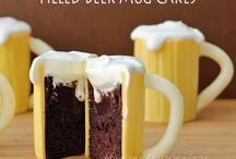 Zakusky, torty , koláče