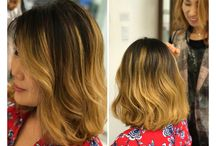 Coloring, Balayage, Ombre / photos for hair coloring