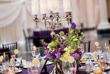 Trend Setting Centerpieces / From traditional style to extraordinary opulence, we are able to design beautiful centerpieces to make your reception a truly unique and magical event.