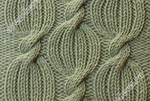 Interesting Stitches / Knitting patterns, knitting charts, stitch patterns, interesting stitches, knitting stitches, cables, lace, inspiration