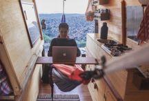 Van life / dreaming of van living days