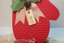 Scrapbooking cards (christmas)