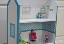 Lil girl toys,decor&misc items / by Joella House