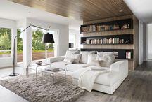 Уютный модерн / Очень часто интерьеры в современном стиле кажутся «холодными».