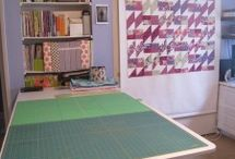 sewing room designs / by Diane Morin