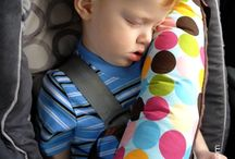 Diy / Seat belt pillow