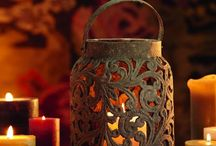 Candles,  Chandeliers,  Lanterns  and  Lamps