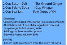 Detox baths