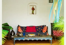 Asian interiour design / Mostly Indian style, a bit Marocco, a bit - boho chic