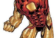 Page 1 - Sleek / Sci-fi Power Armored Superhero
