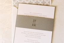 Belly Bands voor trouwkaarten / Speciale bandjes die je over de trouwkaart heen schuift, in het design van jullie trouwkaarten!