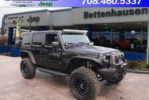 Bettenhausen Jeep RECON / This is your chance to get your very own ONE OF A KIND Jeep. Introducing the Bettenhausen exclusive RECON brand! Customize your own, or take home one our team has already designed. Either way it's a win-win situation!