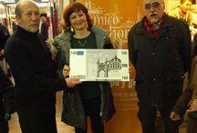 Premios concurso de cocina / Entrega de premios a los ganadores del I Concurso de Cocina del Mercado Central de Zaragoza.