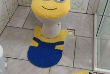 croches para banheiros