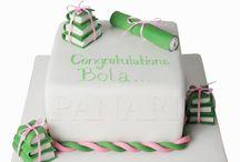 Graduation Cakes by Panari