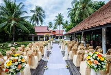 """Say....""""I do"""" / Our resort provide a unique location with professional team to create your special wedding events"""