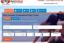 Axis Softech Products / Axis Softech, leading Travel Portal Development Company based in New Delhi, India. Our products: Safari Aero, Safari Special, Safari Special Pink, Safari Standard, Safari Mid, Safari Advance, Safari Ultra, Safari B2B and Safari B2E.