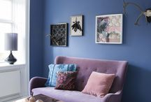 home decor (blue+purple)