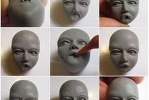 Doll sculpting