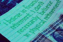 positive sayings pink green