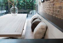 Bench seat kitchen