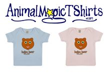 Babies Organic T Shirts. / Organic cotton babies t shirts with original hand drawn prints.