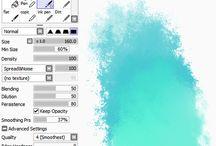 Sai brush setting