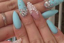 nails & hair style
