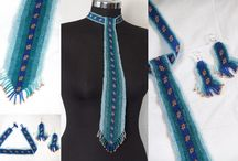 Ties / The art of beading ties