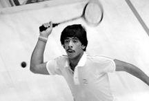 squash, world number 1 / cronologia dei numeri 1 della classifica mondiale di squash  / by Mirko Pareccini